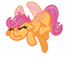 animated flutterponies scootaloo theknysh transparent