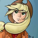 applejack humanized megasweet rustydooks