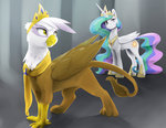 crown gilda princess_celestia silfoe