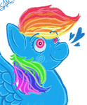 mspaint portrait rainbow_dash samicats