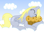 :3 derpy_hooves katurday95 muffin