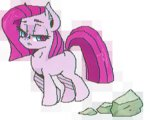 euphoriapony pinkie_pie pixel_art rock young