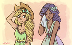 applejack dress humanized nilii rarity