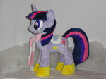 boots photo plushie saddle scarf toy twilight_sparkle whitedove-creations winter_wrap_up