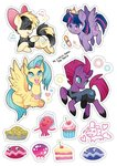 jannel300 pinkie_pie princess_skystar princess_twilight songbird_serenade tempest_shadow twilight_sparkle