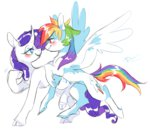 8-xenon-8 classical_unicorn highres rainbow_dash raridash rarity shipping