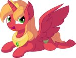absurdres alicorn big_macintosh cyanlightning highres vector