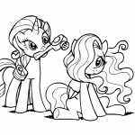 blow_dryer fluttershy lineart megasweet rarity