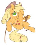 aosion applejack highres rope
