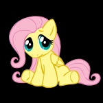 filly fluttershy megasweet