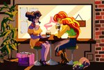 coffee ethicaltea humanized shipping spike sunlight sunset_shimmer twilight_sparkle