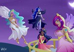 absurdres emberfan11 highres humanized princess_cadance princess_celestia princess_luna princess_twilight twilight_sparkle
