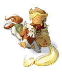 applejack autumn_blaze highres kirin quetex shipping