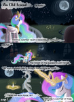 comic discord feather-chan magic mare_in_the_moon moon petrified princess_celestia