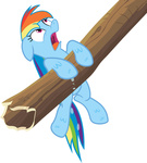 highres log rainbow_dash svg thorinair transparent vector