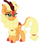 applejack cloudyglow highres kirin species_swap vector