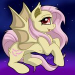 bat_pony flutterbat fluttershy gleamydreams highres