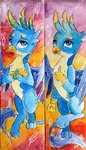 gallus highres moonlight-ki traditional_art