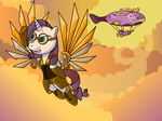 dirigible gimpcowking rarity steampunk