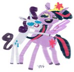 cygaj lowres princess_twilight rarity twilight_sparkle