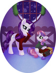 christmas present rarity rizcifra snow sweater sweetie_belle