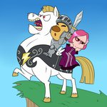 armor brittany bulk_biceps crossover highres knight louie madmax pikmin sword weapon