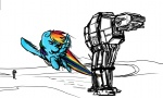 crossover livestream rainbow_dash spectralunicorn star_wars