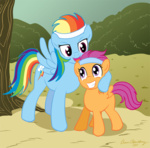 brian_blackberry rainbow_dash scootaffection scootaloo