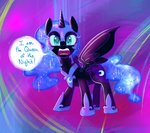 nightmare_moon ryuredwings