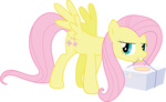 box fluttershy highres party_of_one sircxyrtyx transparent vector