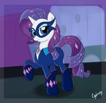 absurdres cogbrony costume highres power_ponies radiance rarity