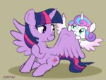 empyu princess_flurry_heart princess_twilight twilight_sparkle