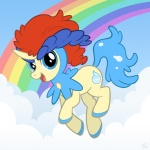 keldeo pimmy pokemon ponified rainbow