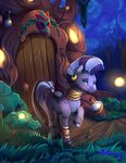 everfree_forest flowers forest highres poison_joke scenery viwrastupr zecora
