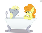 bath derpy_hooves golden_harvest txlegionnaire