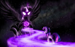 avatar:_the_last_airbender empalu highres princess_twilight space twilight_sparkle