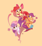 apple_bloom cutie_mark_crusaders drtuo4 highres scootaloo sweetie_belle