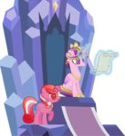 g1 galaxy generation_leap highres kaylathehedgehog princess_cadance throne transparent twinkle-eyed vector