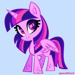 princess_twilight spacekitsch twilight_sparkle