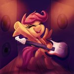 guitar highres scootaloo thediscorded