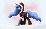 christmas highres ncmares princess_luna winter