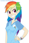 humanized lainchan rainbow_dash