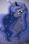 Post 66333, tags: absurdres, alukamalika, highres, portrait, princess_luna, rating:Safe, score:5, user:Geomancing