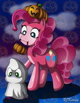 costume hat pinkie_pie pumpkin spike xjkenny