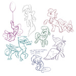 apple_bloom balloon big_macintosh derpy_hooves gilda naroclie pinkie_pie sketch starswirl_the_bearded the_great_and_powerful_trixie zecora
