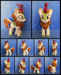 absurdres autumn_blaze fireflytwinkletoes highres kirin photo plushie toy
