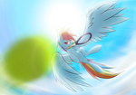 ball phon-e rainbow_dash tennis