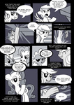 applejack apples comic grayscale highres karzahnii nintendo parody rainbow_dash rarity super_smash_bros