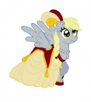 derpy_hooves dress gala_dress ironychan