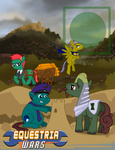 advance_wars cyborgphilospher drake eagle javier jess_(advance_wars) military ponified sand_castle wagon